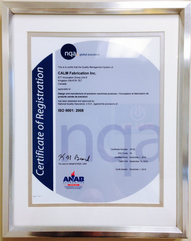 Anab Certificate